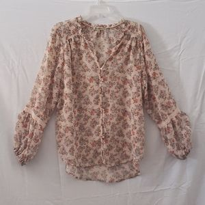 Democracy Floral Tunic Large